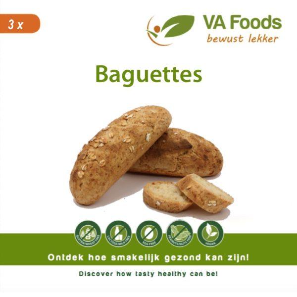glutenvrij baguettes brood