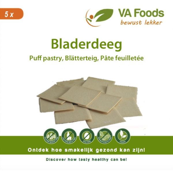 bladerdeeg glutenvrij vegetarisch puff party