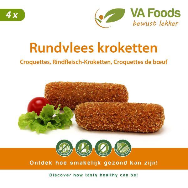 VA-Foods - Rundvlees kroketten glutenvrij gllutenfrei sans gluten croquettes kroketten