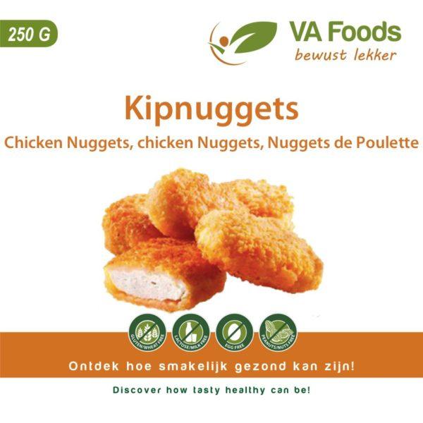 Chicken nuggets gluten free halal kipnuggets glutenvrij airfryer glutenfrei sans gluten nuggets