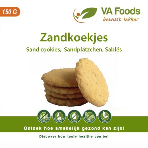 glutenvrij lactosevrij zand koekje